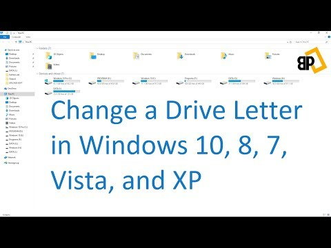 [Tutorial] How to Change a Drive Letter in Windows 10, 8, 7, Vista, and XP