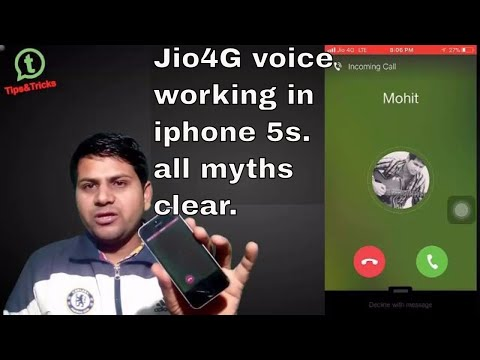 jio 4g voice app working in iphone 5s | Now you can call it| A to Z Process