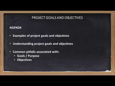 Goals and Objectives Final