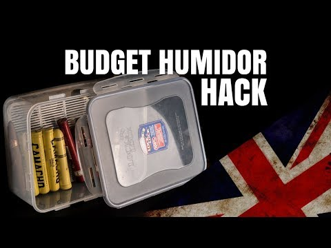 The BEST budget humidor!
