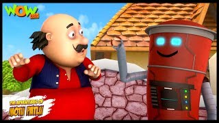 Motu Patlu New Episode   Hindi Cartoons For Kids   Motu Patlu The Letter Box   Wow Kidz
