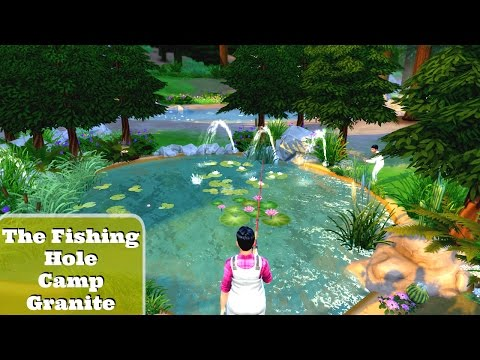 The Sims 4: Speed Buid: The Fishing Hole: Camp Granite