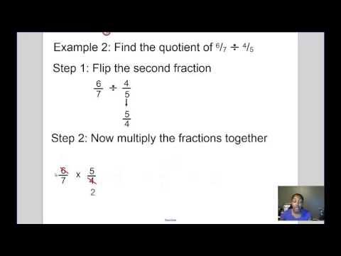 Mrs Kingsberry- Dividing Fractions