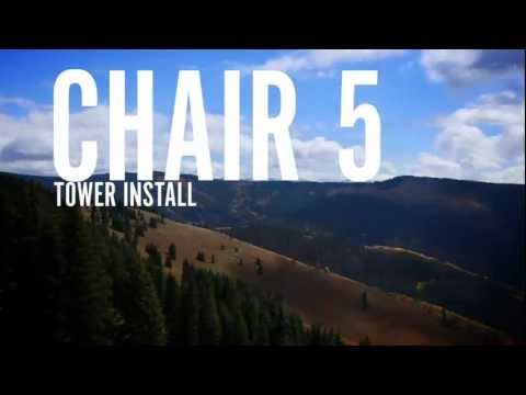 How ski lifts are installed: Vail's new Chair 5
