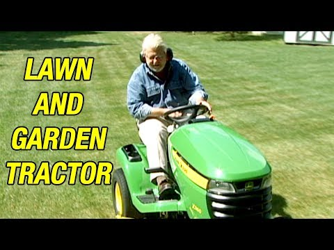 Get the Most Out of Your Lawn Tractor and Garden Machine
