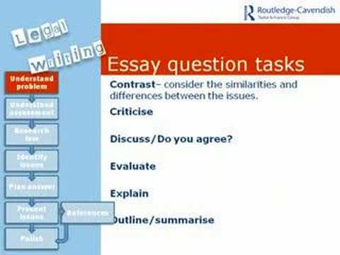 Legal Writing Skills Module 1: UNDERSTANDING PROBLEMS