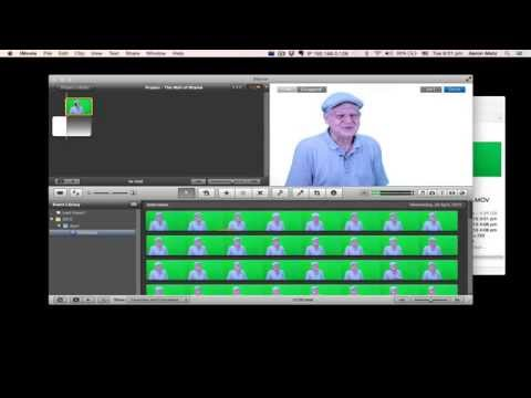 HowTo: Green Screen and Make Audio Corrections in iMovie