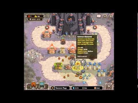 Kingdom Rush Level 12 Walkthrough (Last Level)