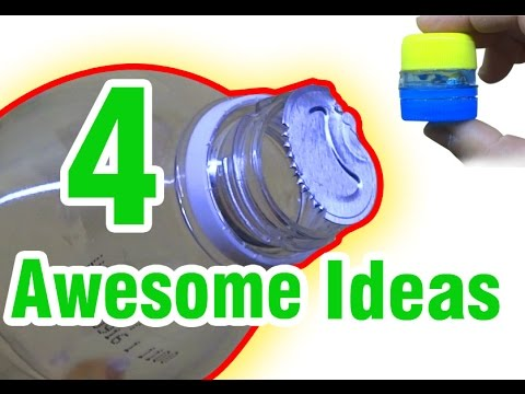 4 awesome ideas with plastic bottles