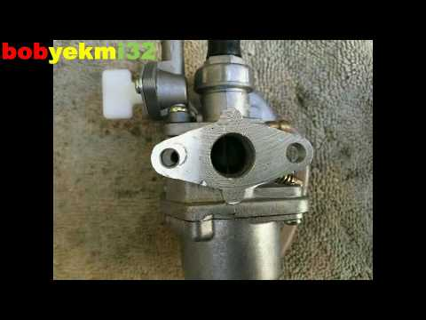 How remove and replace a pocket bike carburetor HD