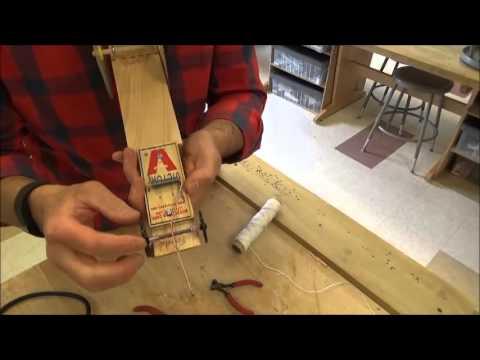 Mousetrap Car Video #6 (Extending the lever)