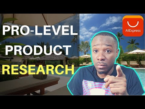 How I do Pro Level Niche and Product Research on AliExpress