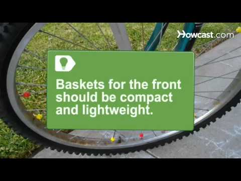 How to Build Your Own Bicycle Basket