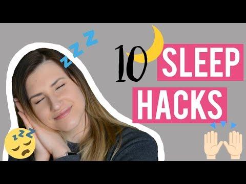 How to FALL ASLEEP FAST | 10 Sleep Hacks for a Good Night Sleep