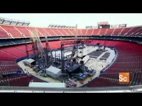 Turn it On Again Tour Stage Setup