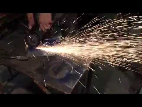 Fast and easy sheet metal cutting technique.
