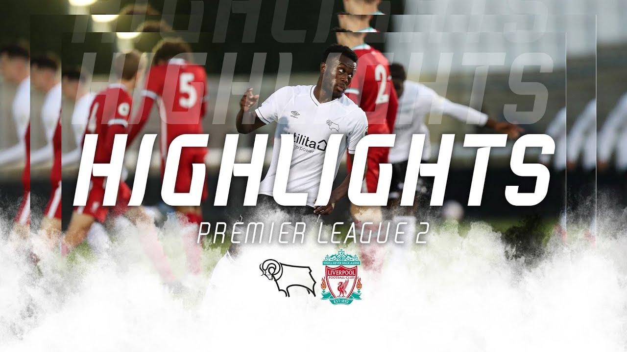 ACADEMY HIGHLIGHTS | Derby County U23s v Liverpool U23s
