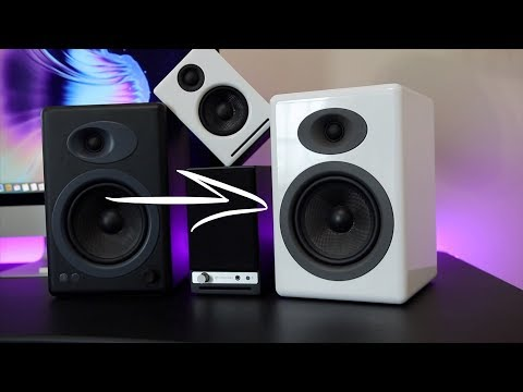 Audioengine A5+ Wireless Speakers (w/ Demo)