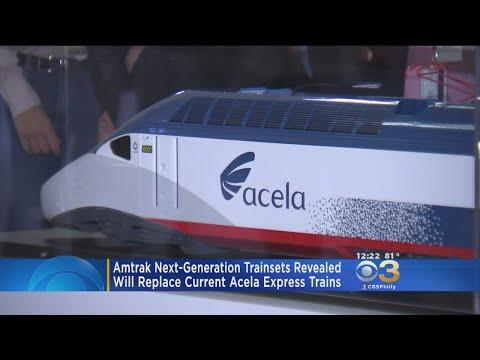 AMTRAK Unveils Next-Generation Trains Sets To Replace Acela Express Trains