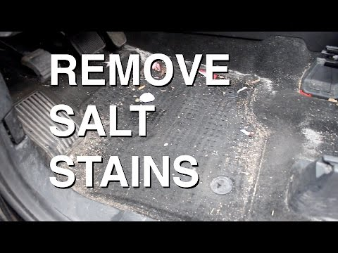 How to SAFELY Remove Salt Stains from Carpets