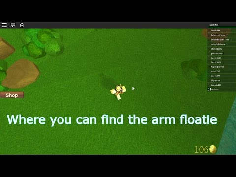 Roblox: Where to find the arm floaties - Summer Camp -