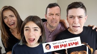 READING MEAN COMMENTS! - (Very Emotional)