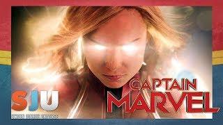 Let's Talk About That Captain Marvel Trailer! - SJU