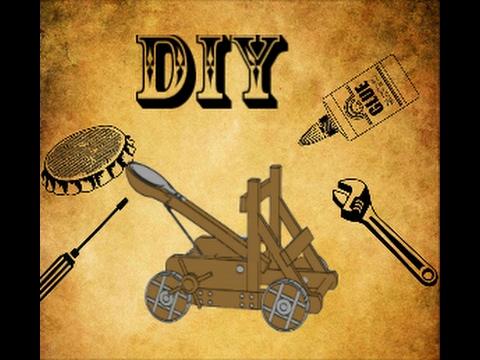 How to make Mini Catapult