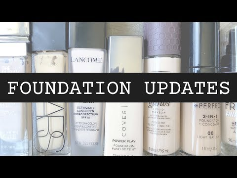 FOUNDATION REVIEW UPDATES: which do i still use??