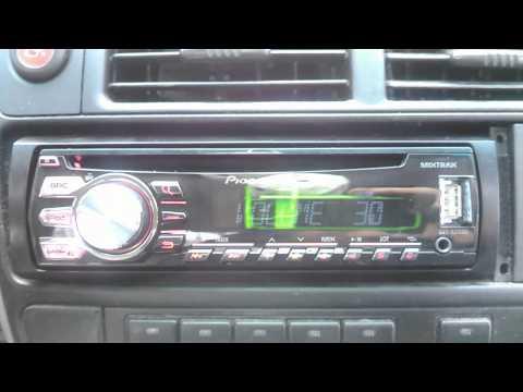 New radio in my 98 Honda civic