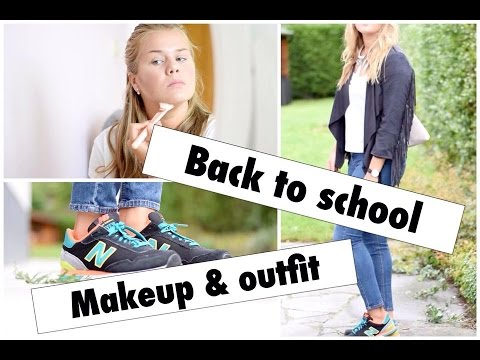 Back to school | Makeup & Outfit