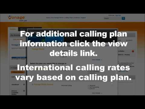 Vonage How-To: Change your Calling Plan