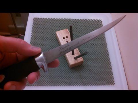 How to sharpen a fillet knife