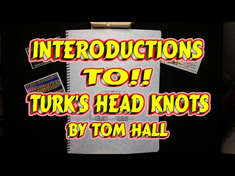 Book Review Introduction To Turks Head Knots By Tom Hall