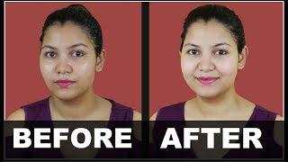 गोरी निखरी त्वचा पाईये - घर के फेसिअल से/summer facial for skin whitening, glowing, oil free skin