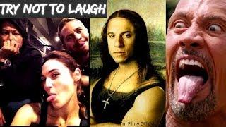 Fast and Furious Series - Hilarious Bloopers & Gag Reel | Gal Gadot | Vin Diesel
