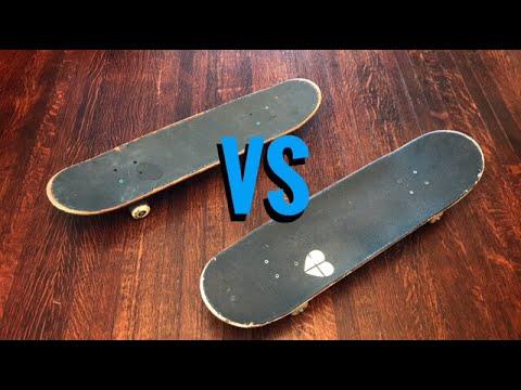 SKINNY SKATEBOARDS vs WIDE SKATEBOARDS
