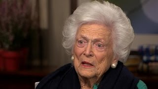 "Barbara Bush:  ""I don't know how women can vote"" for Trump"