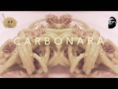 How 2 make spaghetti carbonara al dente af