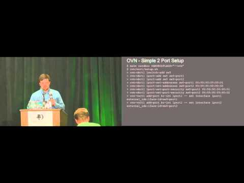 Playing with OVN in a Sandbox (Lightning) - OVS Conference 2015
