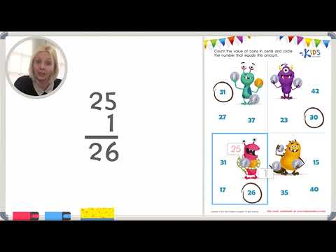 Coins Counting | Math for 1st Grade | Kids Academy