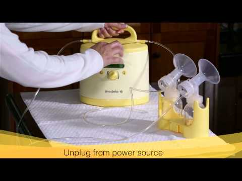 Symphony: Home-use: Cleaning the Breastpump