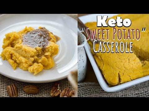Keto Sweet Potato Casserole | Keto Thanksgiving Recipes!