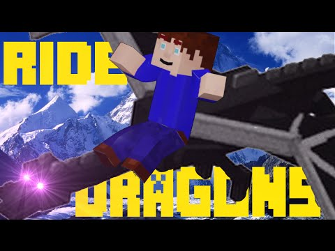 RIDE AND CONTROL DRAGONS IN VANILLA MINECRAFT!