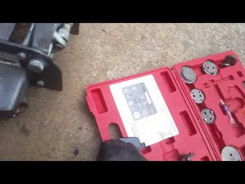 Rear brakes twist in type replaced Pontiac Grand prix