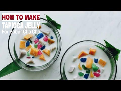 How to Make Tapioca Jelly for Bubur Cha Cha