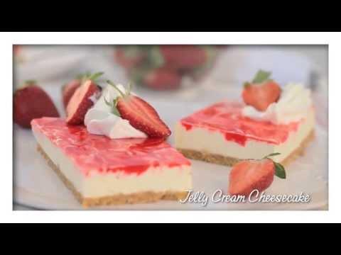 Dream Whip Recipe | Jelly Cream Cheesecake