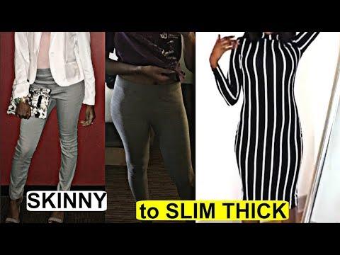 MY TRANSFORMATION Weight Gain Journey | Skinny to Fit Slim Thick 2018 w/ Apetamin