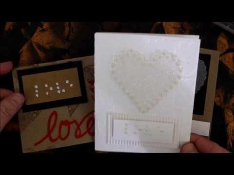 Braille Valentine's Day Cards