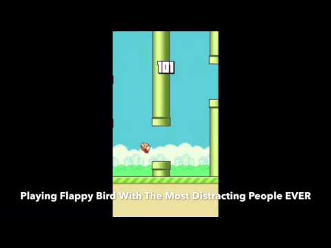 Getting To 150+ In Flappy Bird While Being Distracted!
